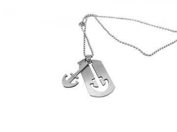 Necklace Army Anchor