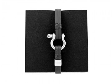 Santorini Black Leather