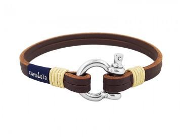 Santorini Brown Leather