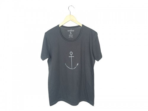 Tee DarkGrey Anchor