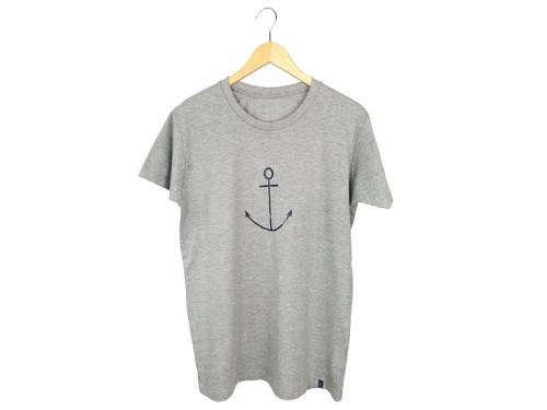 Tee Grey Anchor