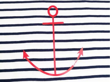 Tee Anchor Stripes